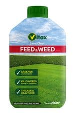 Vitax Green Up Lawn Care Feed & Weed - 100sqm